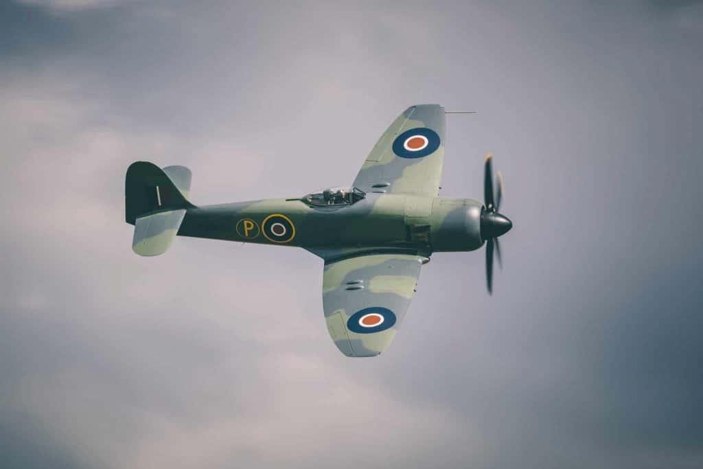 Pilote d'avion de chasse