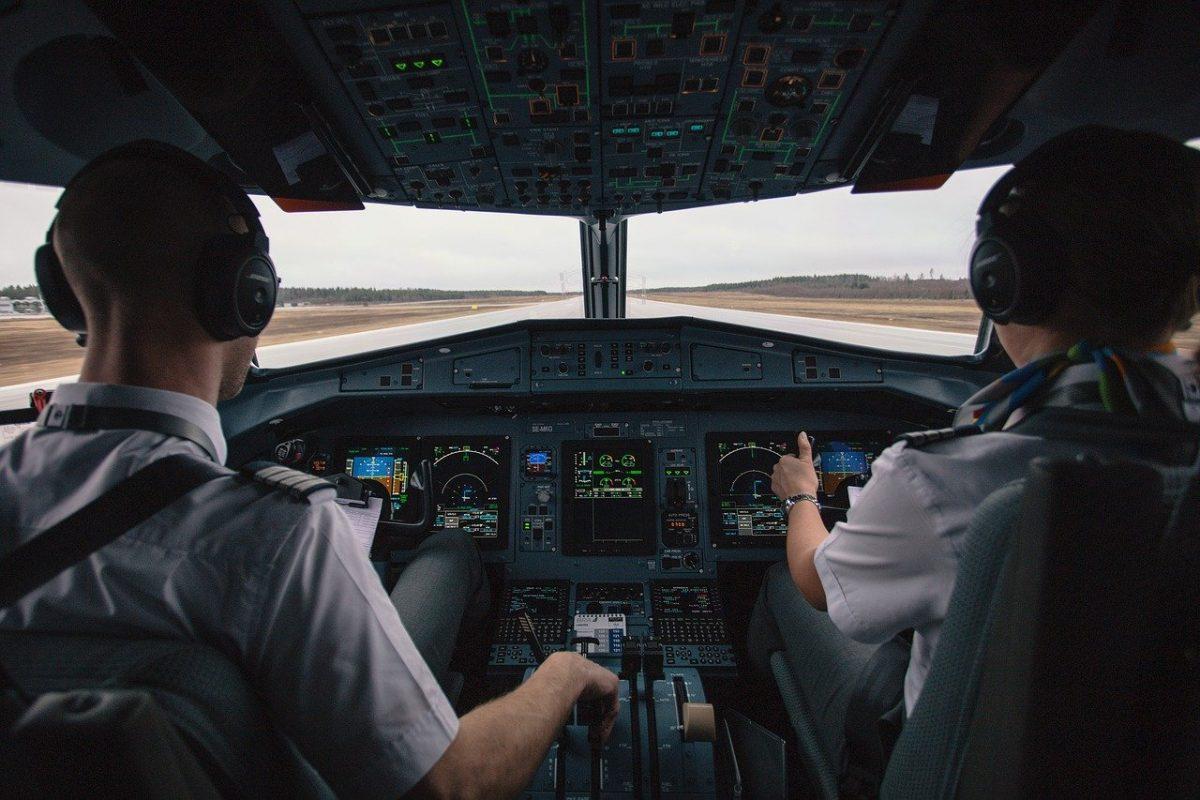 Pilote avion de ligne