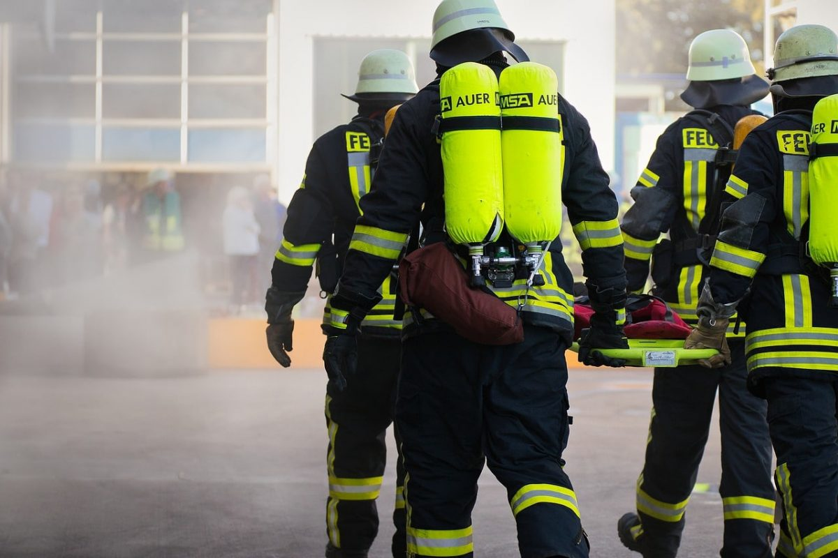Salaire d'un pompier